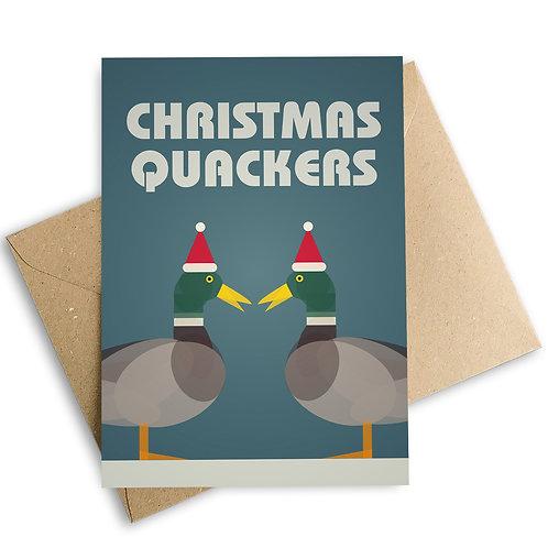 Christmas Quackers Card