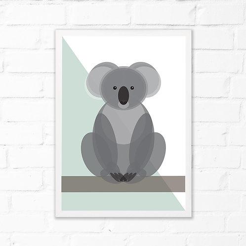 Children's Koala Print