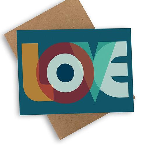 MOD-ern Love Card