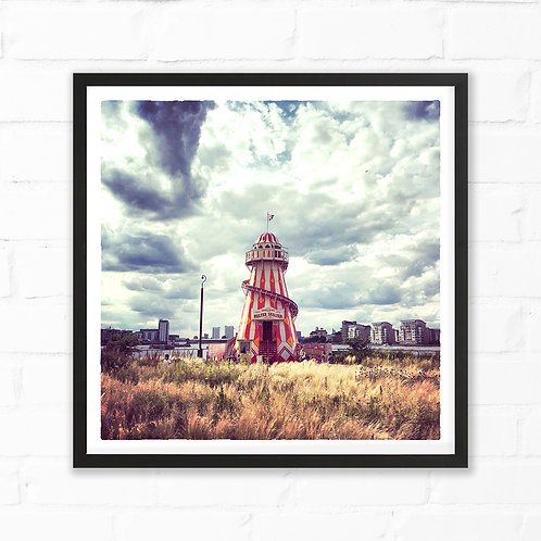 Helter Skelter Art Print by Sam Harris