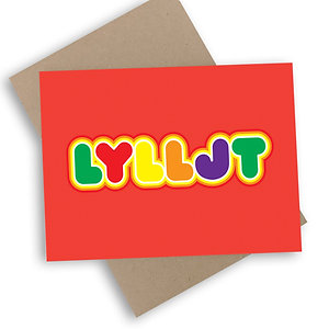 Love You Lots Like Jelly Tots Card
