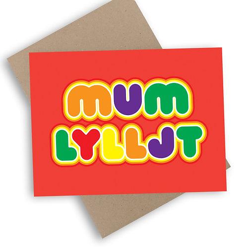 Mum LYLLJT Card