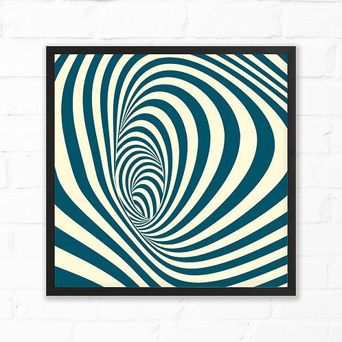 Hypnotic Spiral Print