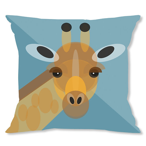 Mid Century Giraffe Cushion Cover