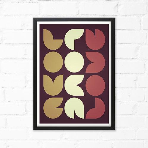 Love 60's Print