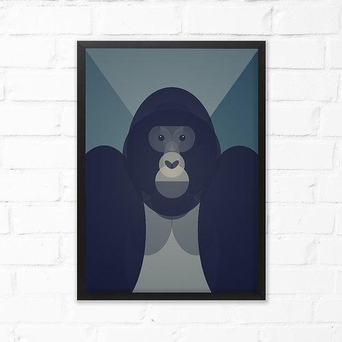 Mid Century Gorilla Print
