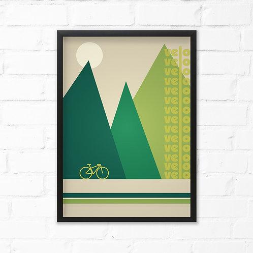 Velo Cycling Print