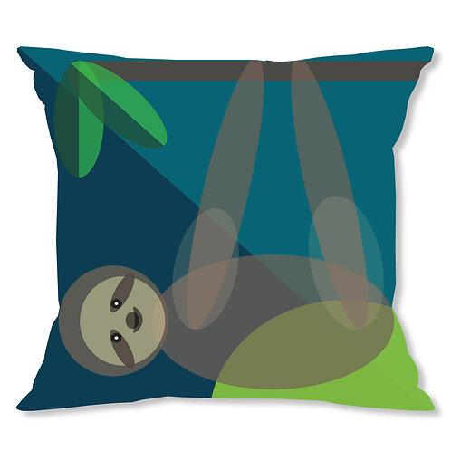 Mid Century Sloth Cushion