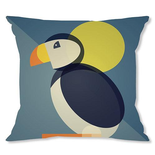 Mid Century Puffin Cushion