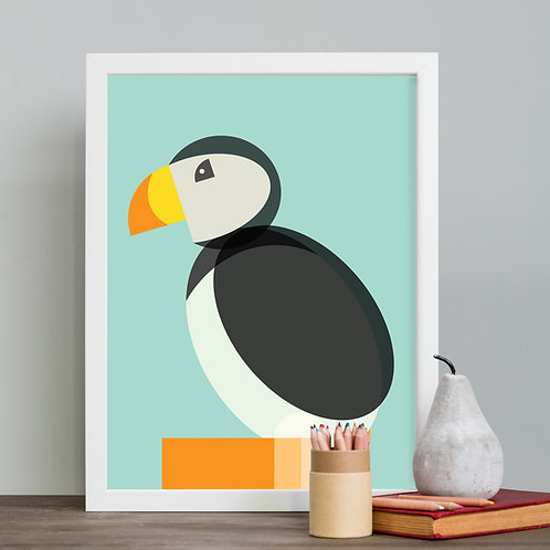 Puffin Children's Print
