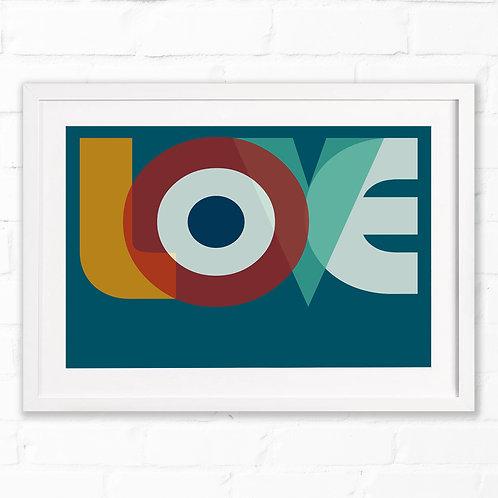 MOD-ern Love Print