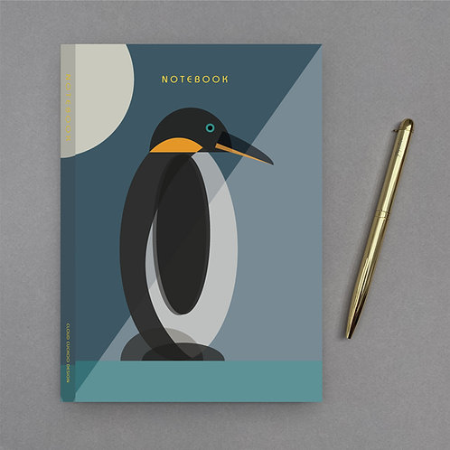 A5 Penguin Notebook