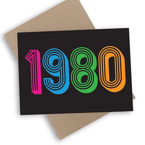1980 Card