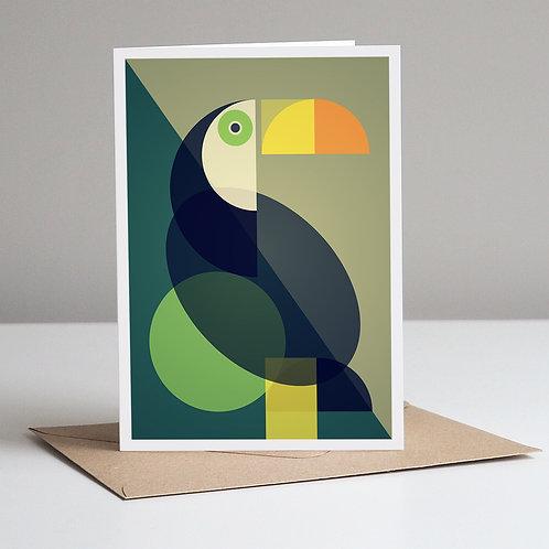 Mid Century Toucan Card