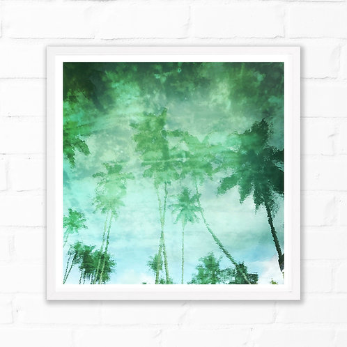 Pool Reflections Art Print