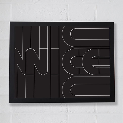 Nice Pattern Print