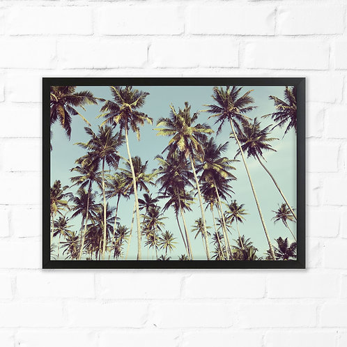 Slim Palms Art Print