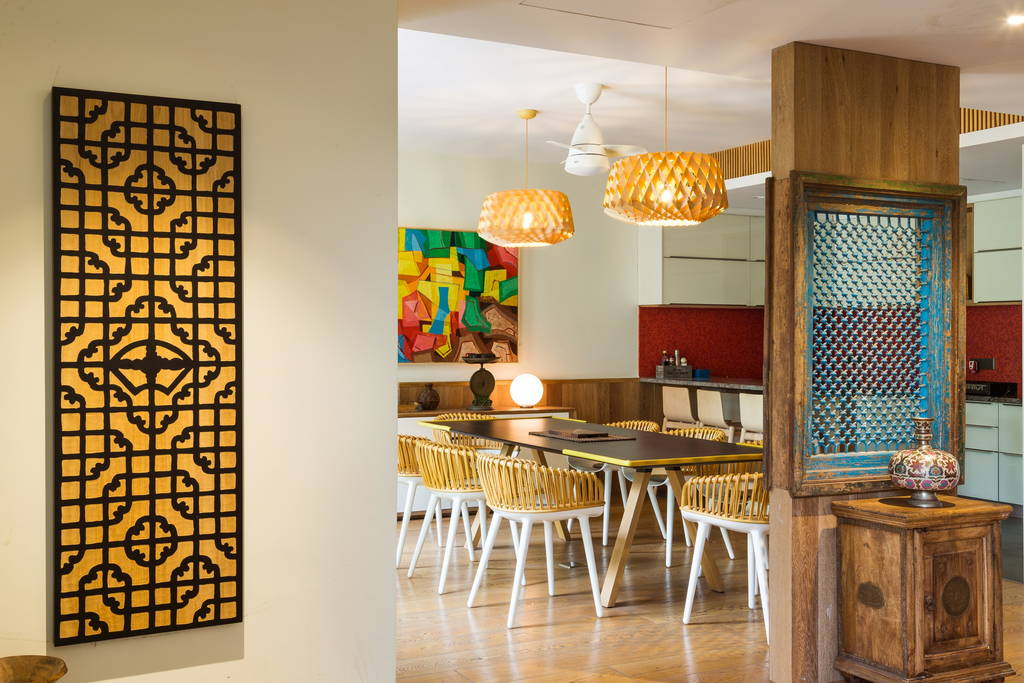 Dining Space At Angle