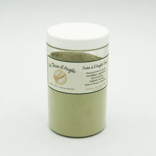Argile Verte  100% naturelle produit vérifié ECO-CERT 300g