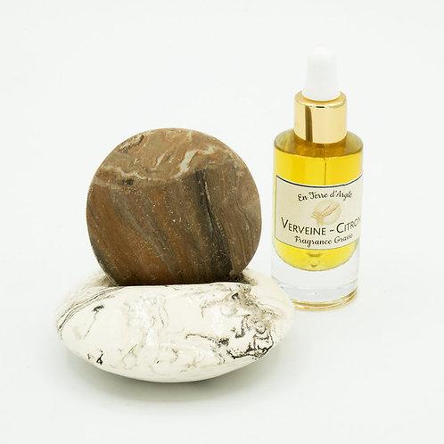 Galet Senteur - Support Marron - Fragrance