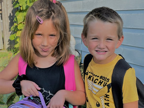 Back to School / My Babies aren't Babies!