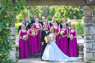 Power & Light District, Kansas City, Missouri Wedding Flowers by Jori Krenzel   Floral Designer