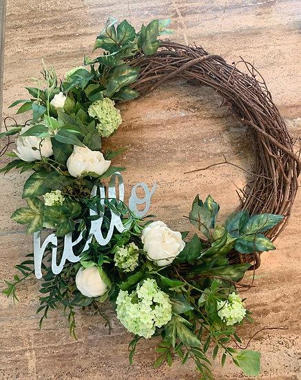 Custom Silk Wreath