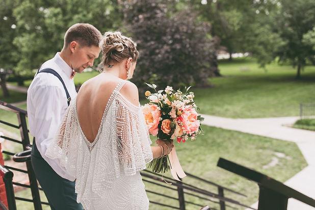 South Park, Lawrence, Kansas Wedding Flowers by Jori Krenzel | Floral Designer
