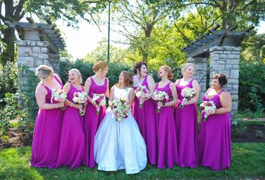 Power & Light District, Kansas City, Missouri Wedding Flowers by Jori Krenzel | Floral Designer