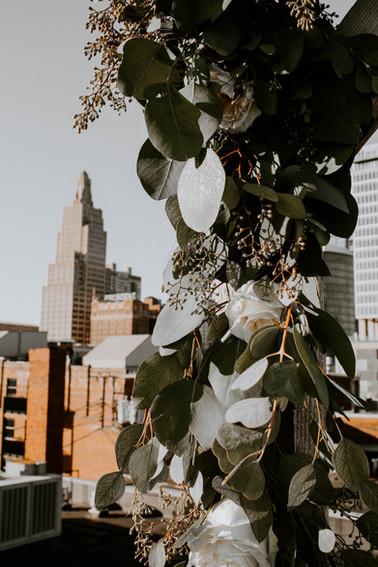 Crossroads, Kansas City, Missouri Wedding Flowers by Jori Krenzel | Floral Designer