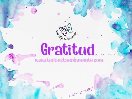 """""""Tratamiento de Gratitud"""""""