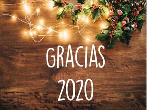 ¡Gracias 2020!