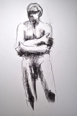 Standing man, arms crossed