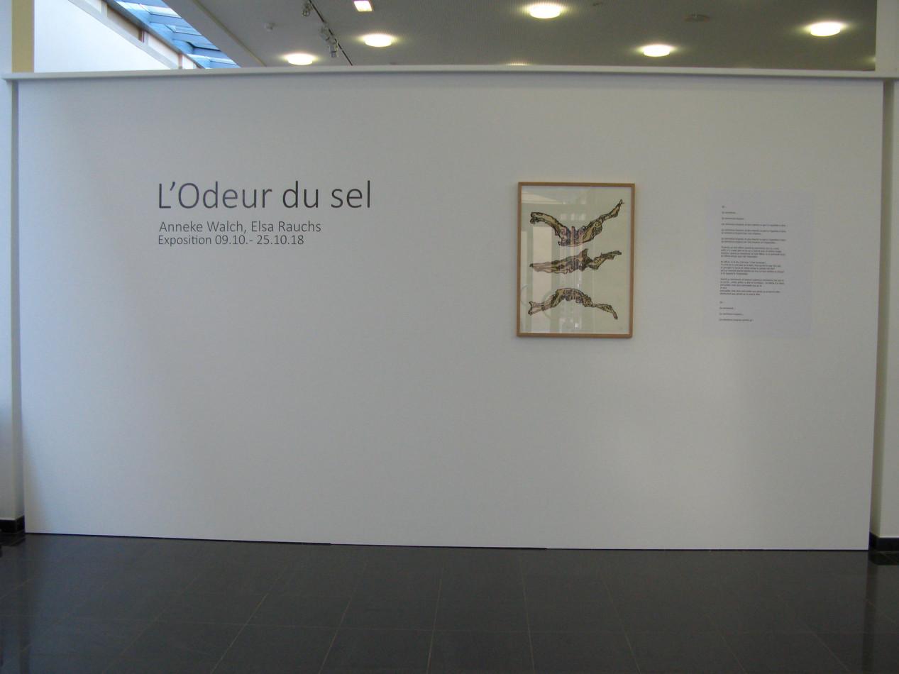 """L'Odeur du sel""with Elsa Rauchs (texts)"
