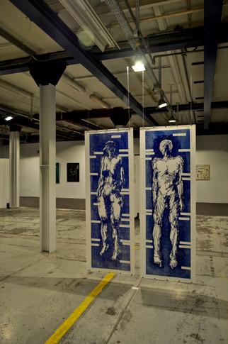 """""""Blue Print"""" couple at Carré"""