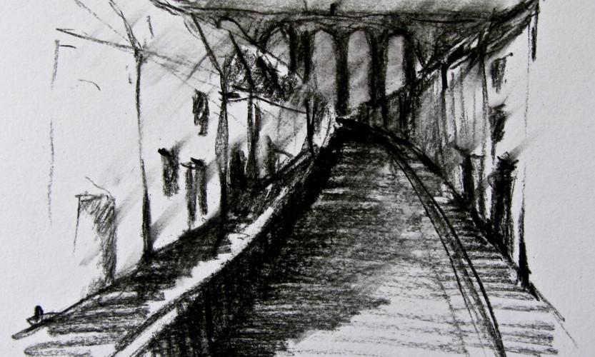 Großstadtmorgen _ Dark River
