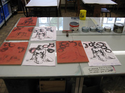 Work in progress, Atelier Empreinte