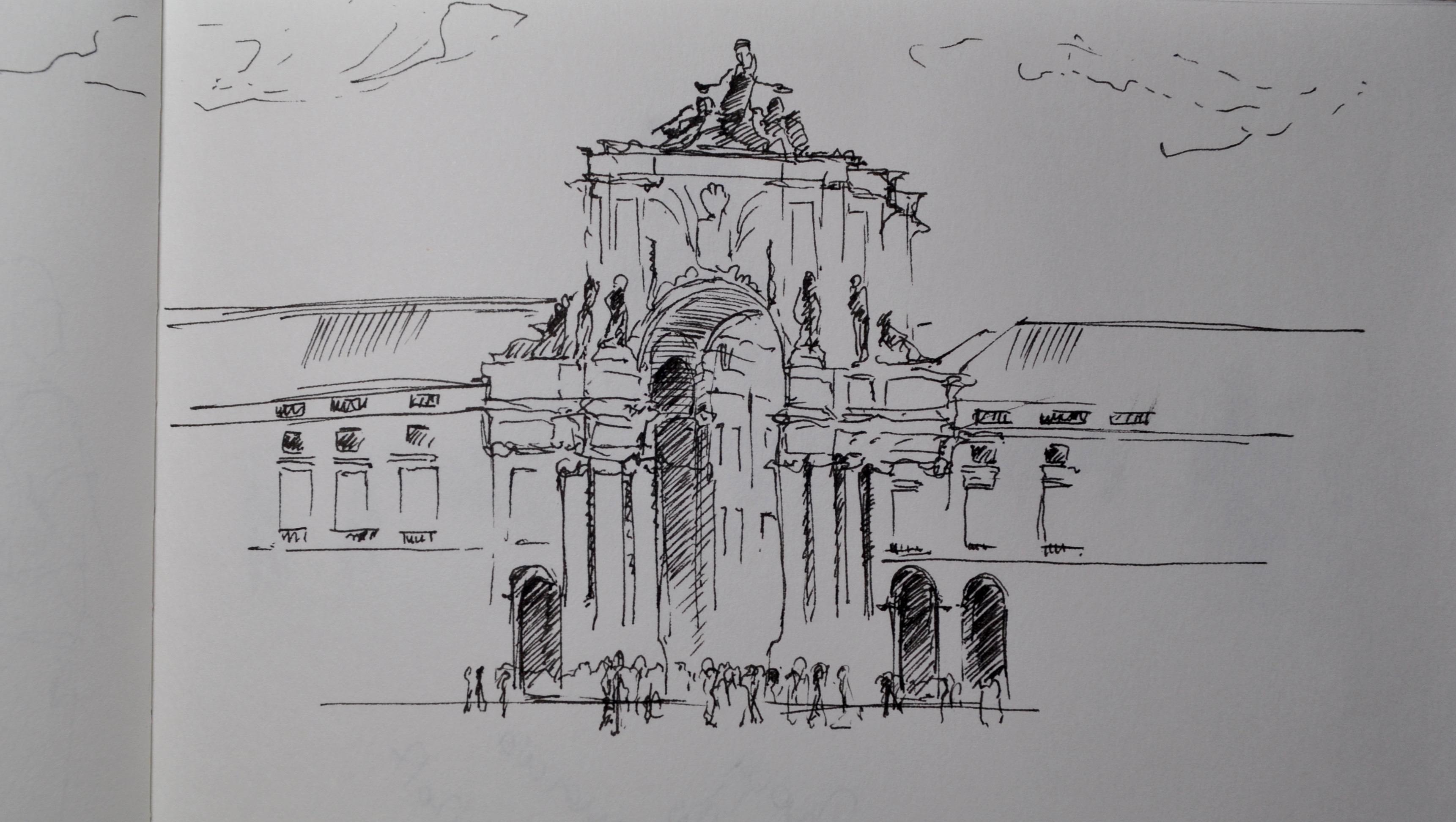 Lisbon, Praça do Comércio