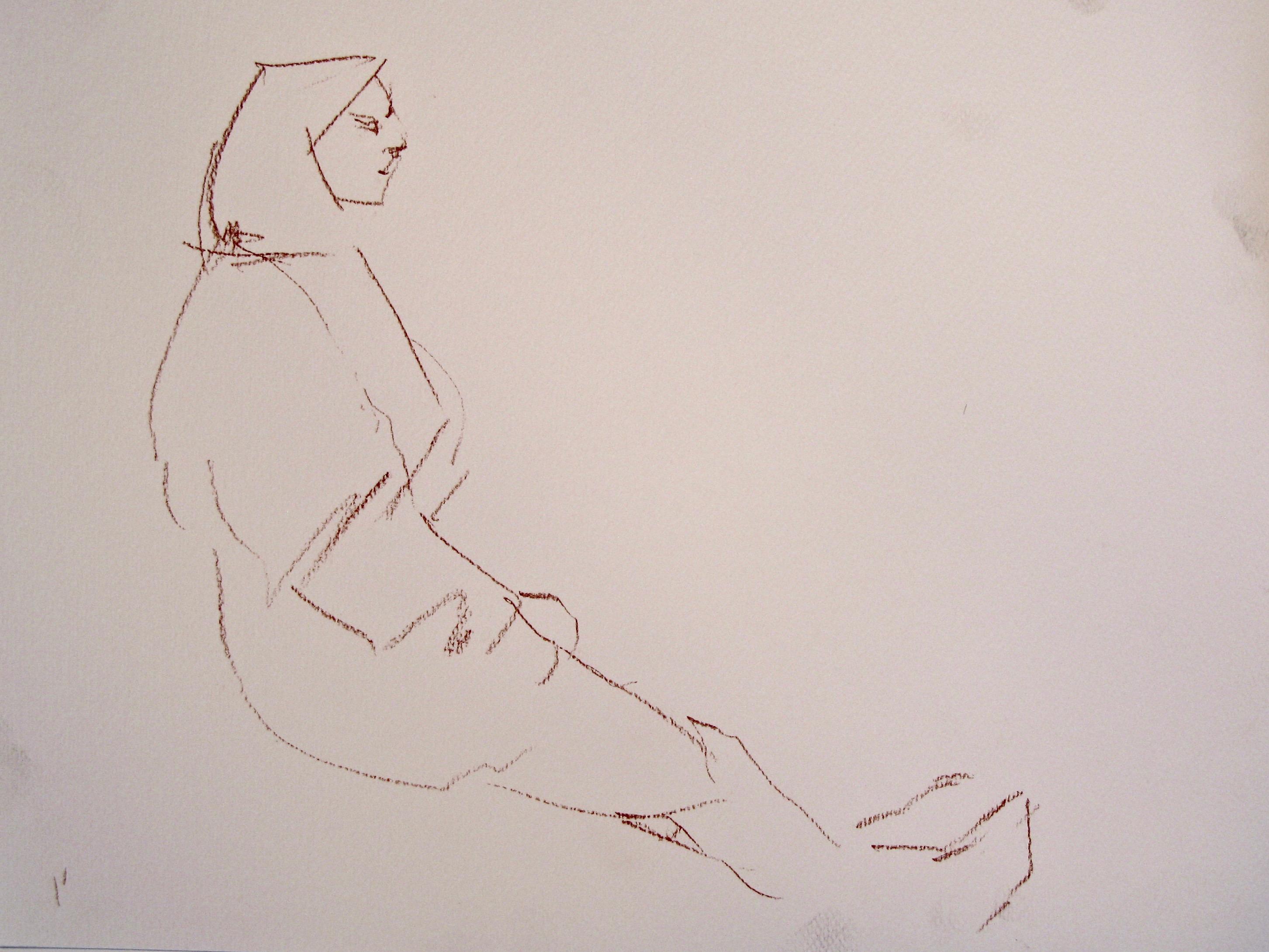 Quick gesture sketch