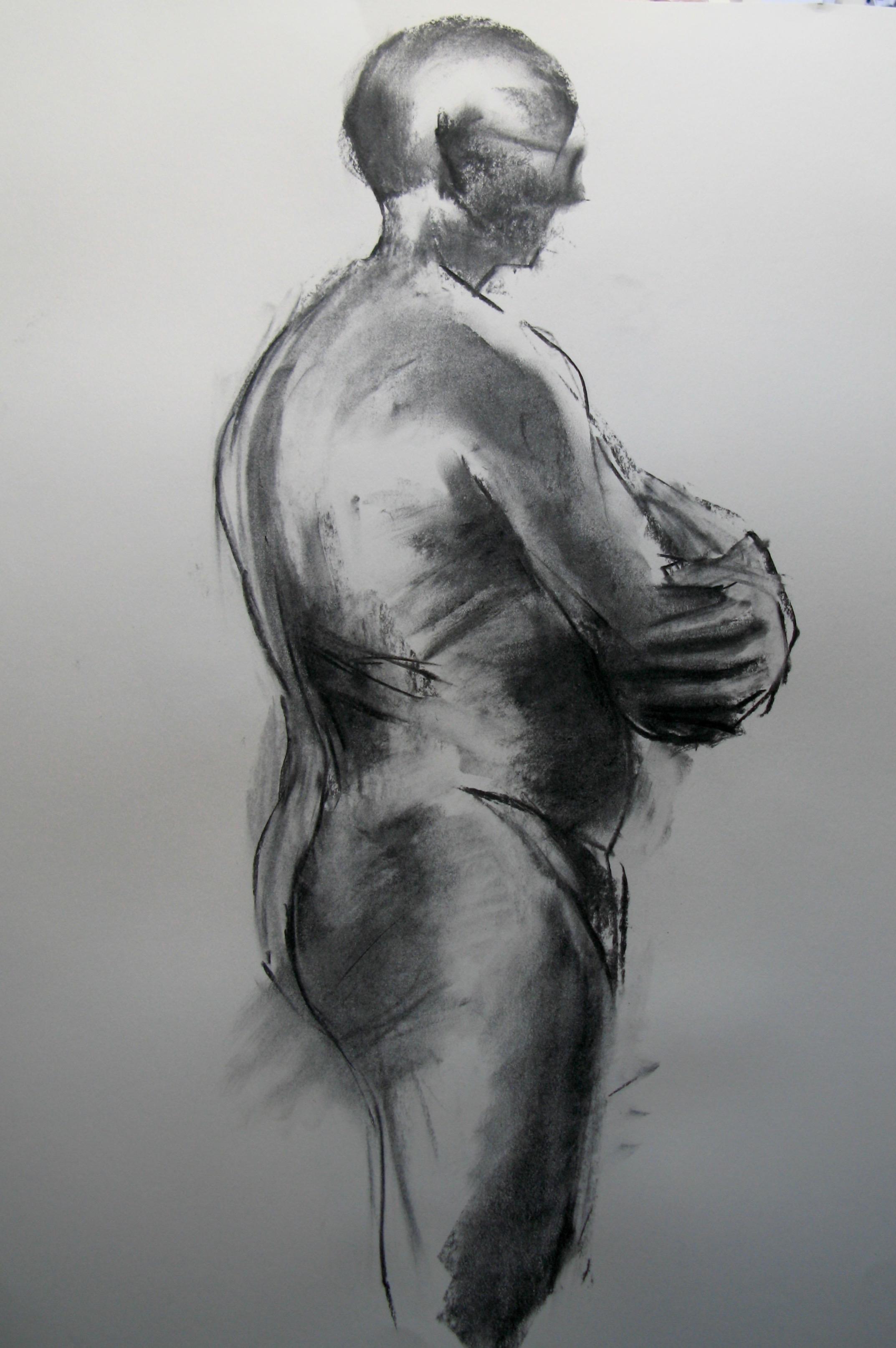 Man, standing