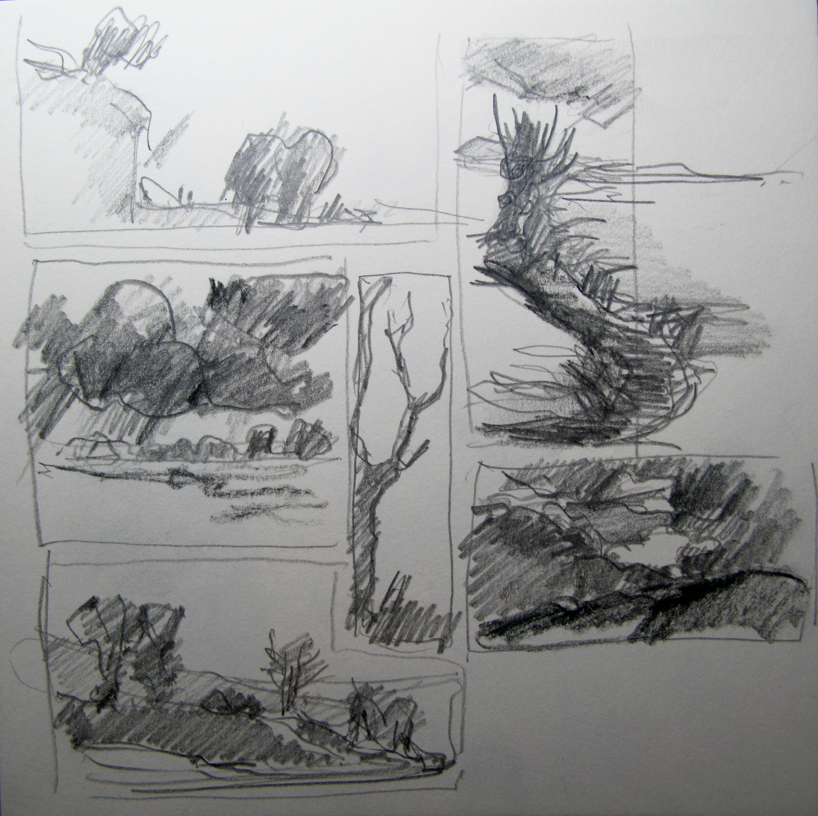 Quick landscape sketches & ideas