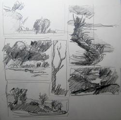 Quick landscape sketches & ideas