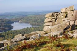View over Burrator Reservoir