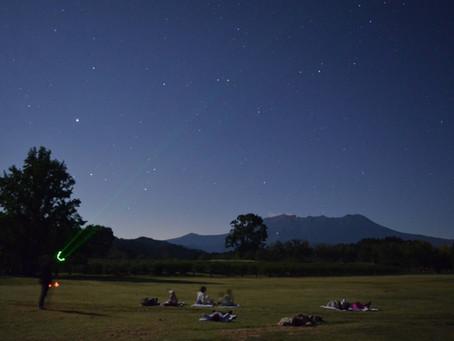 星空と木曽馬ツアー