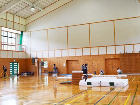 こどもの体操教室@開田小学校体育館