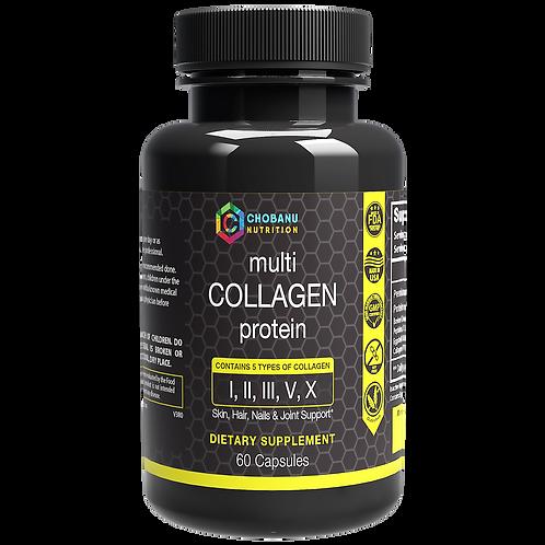 Multi Collagen Protein, Type I, II, III, V, X - Anti-Aging