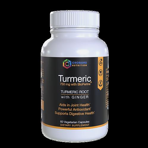 Turmeric Curcumin with Ginger, Bioperine.