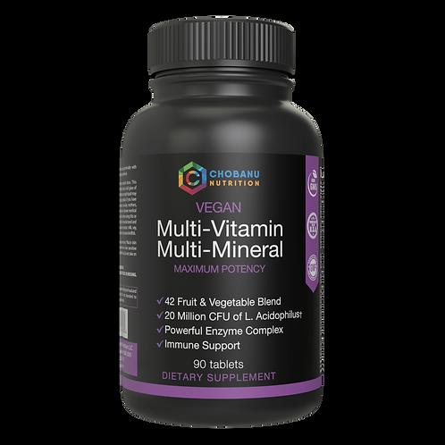 Mega Multi-Vitamin & Multi-Mineral Complex