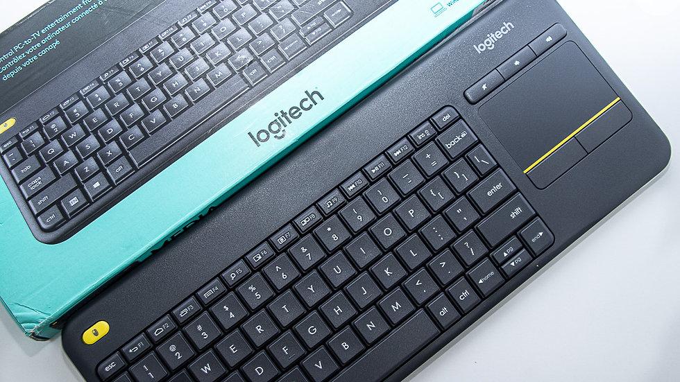 Logitech Wireless Keyboard w/ Touchpad (K400)