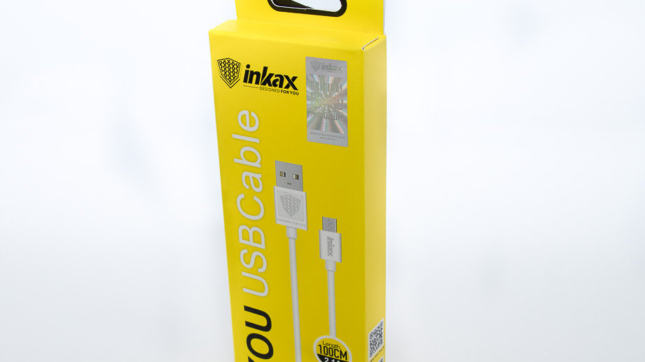 Inkax 2.1A Micro USB Cable 100 cm